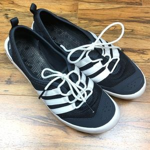 Adidas water shoes black